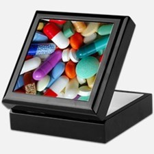 pills drugs Keepsake Box