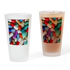 pills drugs Drinking Glass