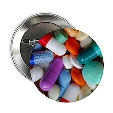 "pills drugs 2.25"" Button"