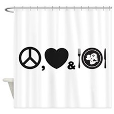 Meal Shower Curtain