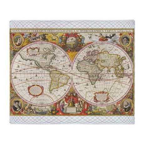 world map blanket uk antique world map throw blanket by funnygiftsideas