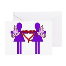 Same Sex Marriage Female Greeting Card