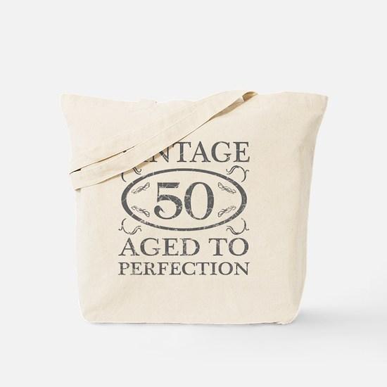 50th Birthday Vintage Tote Bag