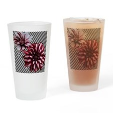 Twin Dahlias from Monet's Garden Drinking Glass