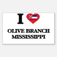 I love Olive Branch Mississippi Decal