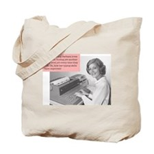 MWC- Typist Tote Bag
