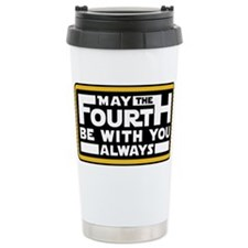 May the fourth be with you Travel Mug