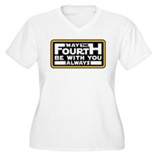 May the fourth be with you Plus Size T-Shirt