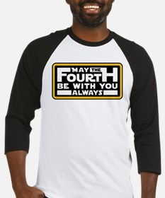 May the fourth be with you Baseball Jersey