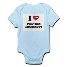 I love Prentiss Mississippi Body Suit