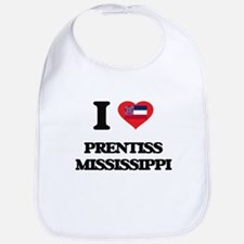 I love Prentiss Mississippi Bib