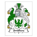Smithers Family Crest Small Poster