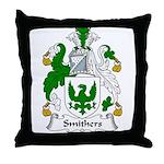 Smithers Family Crest Throw Pillow