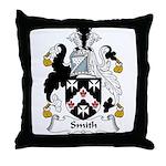 Smith Family Crest Throw Pillow