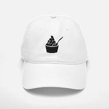 Frozen Yogurt Baseball Baseball Cap