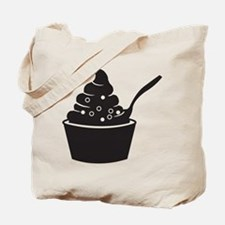 Frozen Yogurt Tote Bag