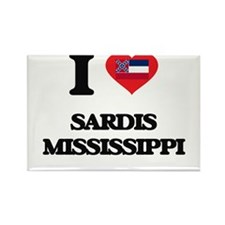 I love Sardis Mississippi Magnets