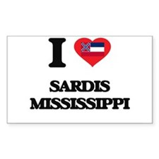I love Sardis Mississippi Decal