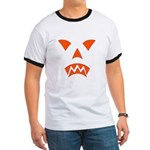 Pumpkin Face Ringer T