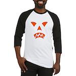Pumpkin Face Baseball Jersey