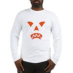 Pumpkin Face Long Sleeve T-Shirt
