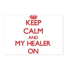 Keep Calm and My Healer O Postcards (Package of 8)