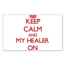 Keep Calm and My Healer ON Decal