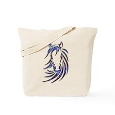 Magical Mystical Horse Portrait Tote Bag
