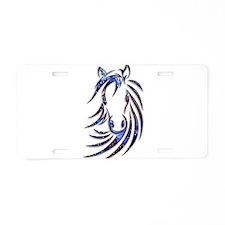 Magical Mystical Horse Port Aluminum License Plate