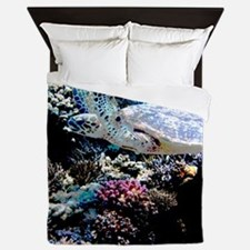 Sea Turtle Queen Duvet