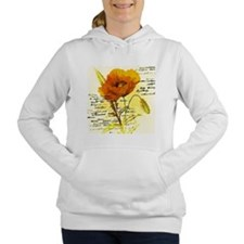 Cute Yellow Women's Hooded Sweatshirt