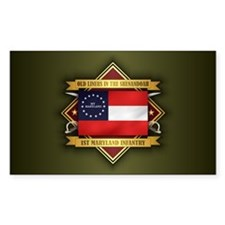 1st Maryland Infantry Decal