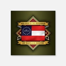1st Maryland Infantry Sticker