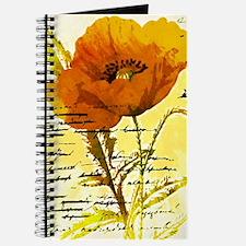 Funny Orange flower Journal