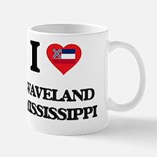 I love Waveland Mississippi Mug