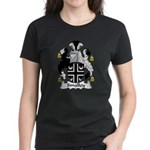 Smalley Family Crest Women's Dark T-Shirt