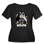 Smalley Family Crest Women's Plus Size Scoop Neck