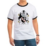 Small Family Crest Ringer T