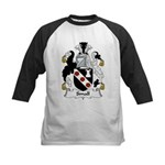 Small Family Crest Kids Baseball Jersey
