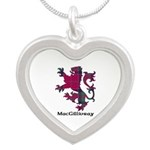 Lion - MacGillivray Silver Heart Necklace