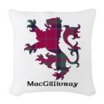 Lion - MacGillivray Woven Throw Pillow