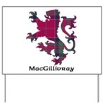 Lion - MacGillivray Yard Sign