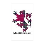 Lion - MacGillivray Sticker (Rectangle 50 pk)