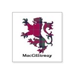 Lion - MacGillivray Square Sticker 3