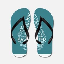 Save Water Flip Flops