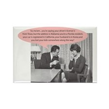 MWC- Lost Kids Rectangle Magnet (10 pack)
