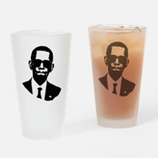 Shady Obama Drinking Glass