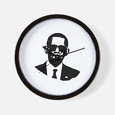 Shady Obama Wall Clock