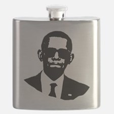 Shady Obama Flask