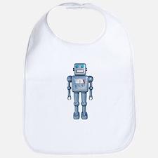 Retro Robot Bib